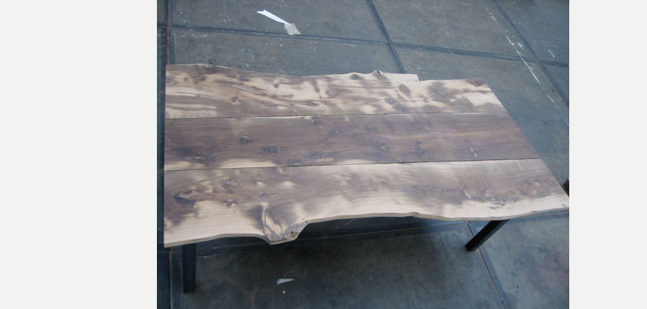 Solid Oak Cow Skin